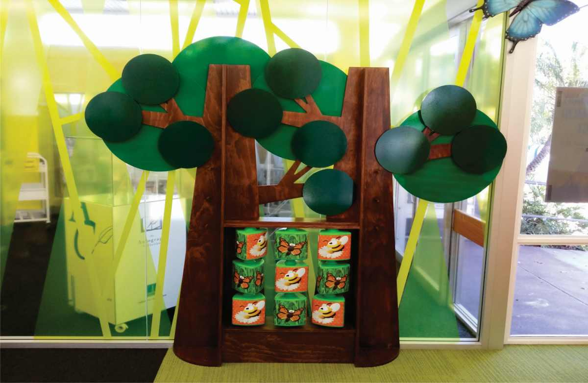 insect tic tac toe interactive carina library childrens area