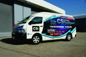 csi van vehicle graphics